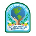 World Thinking Day (Hands holding Globe)