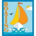 Boating fun patch