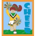 Cheer (Cheerleader)  fun patch